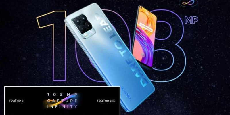 realme Sets its Sights to Capture Infinity with the all new realme 8 Series