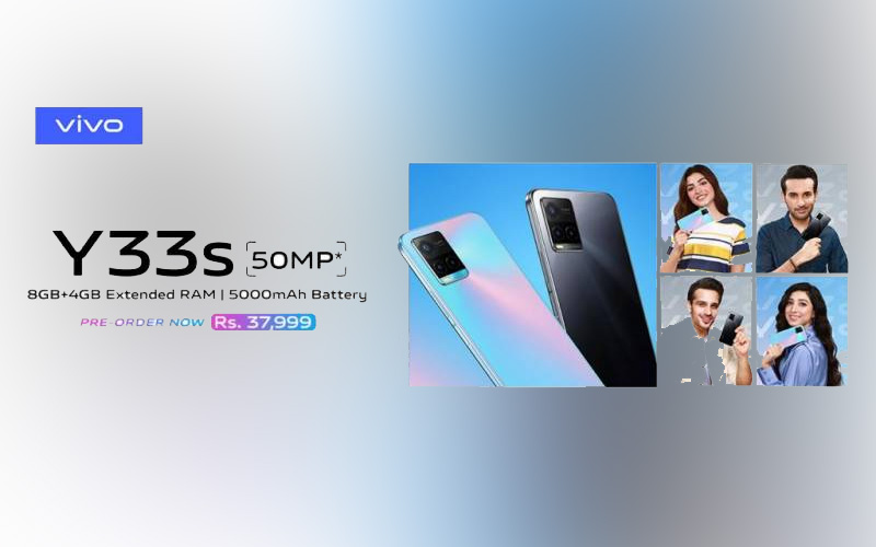 Most awaited vivo Y33s launched in Pakistan