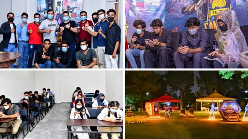 TECNO successfully completes Islamabad matches for the PUBG Campus Championship